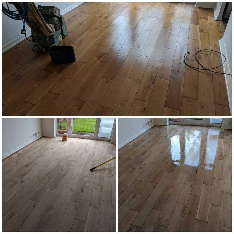 Image 38 - Oak floor sanding services