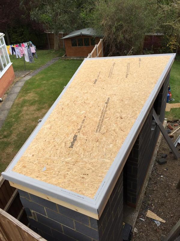 Image 35 - Small GRP Shed Roof - Stevenage, Hertfordshire