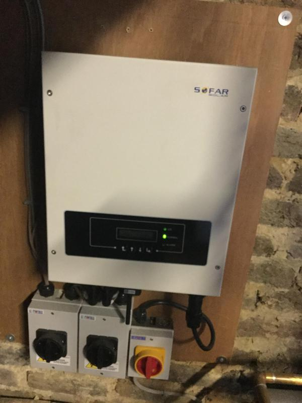 Image 9 - Solar inverter replaced