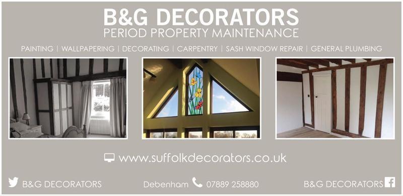 B&G Decorators logo
