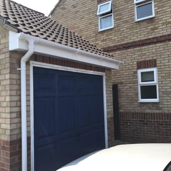 Image 6 - Garage fascia, soffit & guttering
