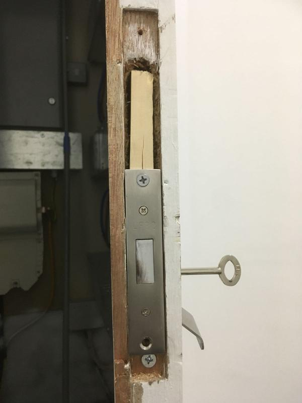 Image 41 - Lock Replacement