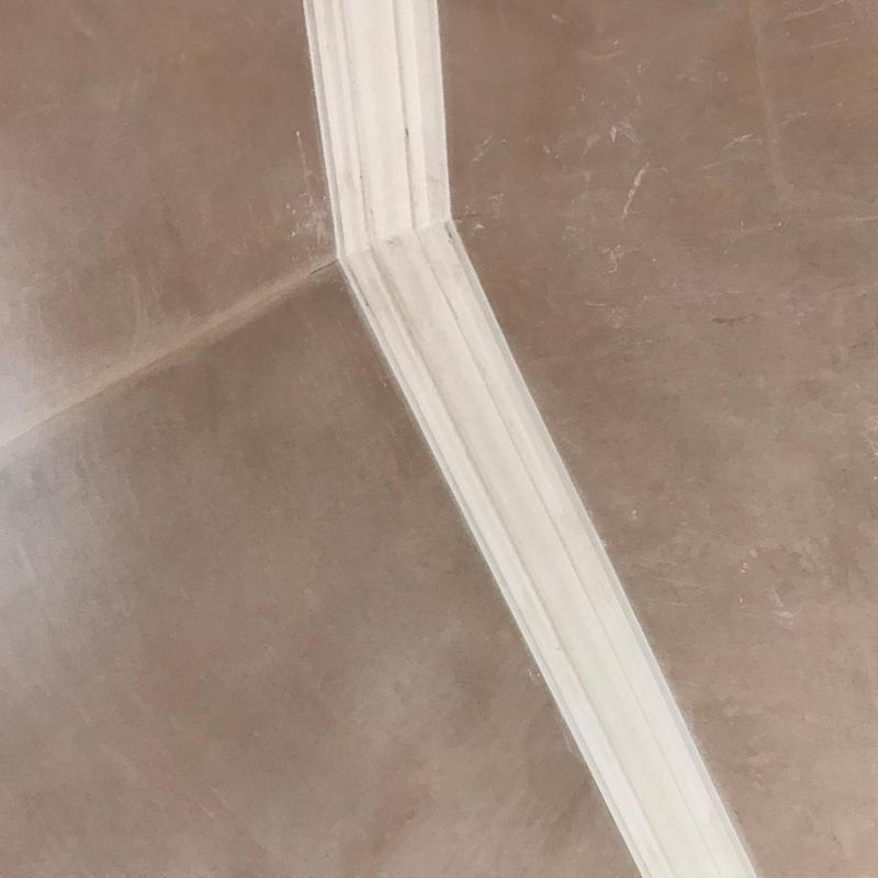 Image 25 - A photo that shows off our expertise in cornice! why? We had to duplicate this cornice from a 1600'th centuary church. All members lining up and beautifully pointed.