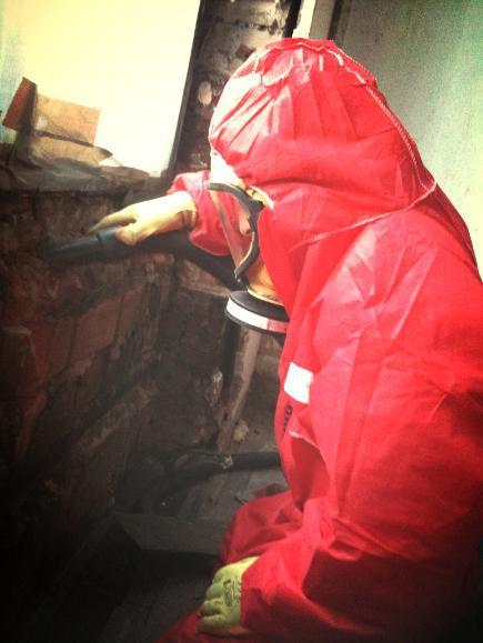Image 50 - HSE Licensed Removals -Environmental Cleaning Using A Type H Vacuum