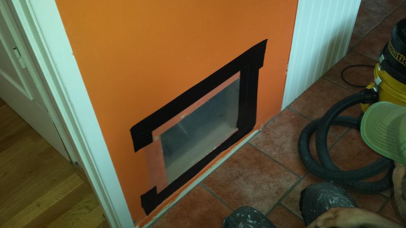 Image 33 - Asbestos Boiler Flue Removal - DURING