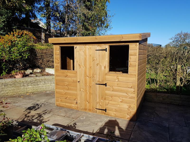 Image 15 - 6' x 4' Pent Shed