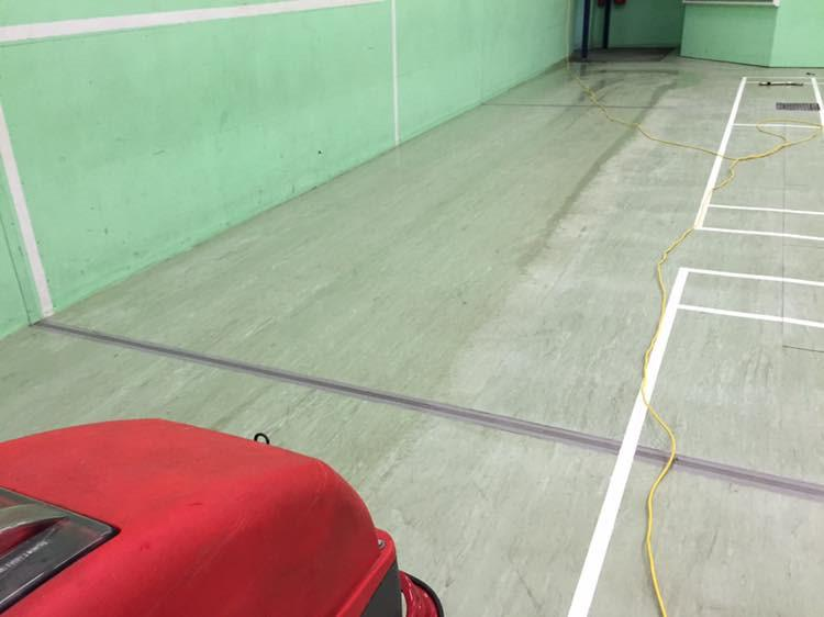 Image 5 - Sports Hall Floor Cleaning