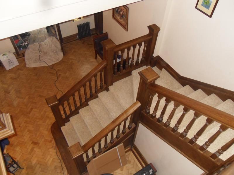 Image 39 - Victorian staircase refurbishment