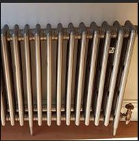 Image 58 - Old school radiator installation! Very heavy!