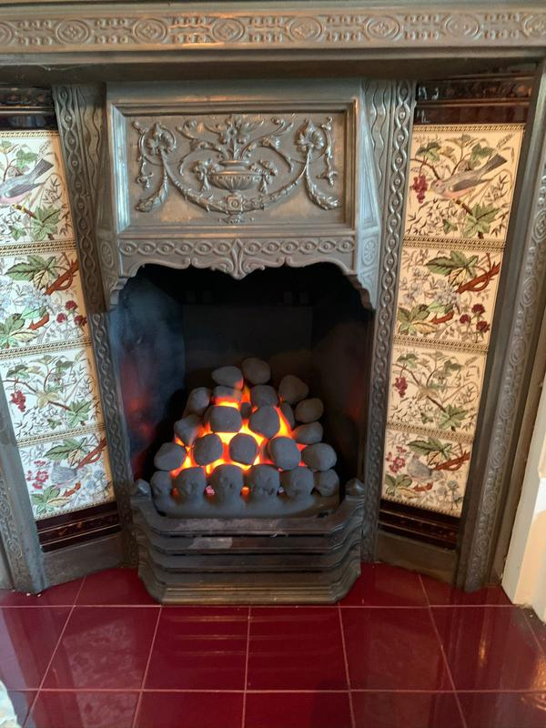 Image 7 - stunning refurb on tired and damaged gas fireplace