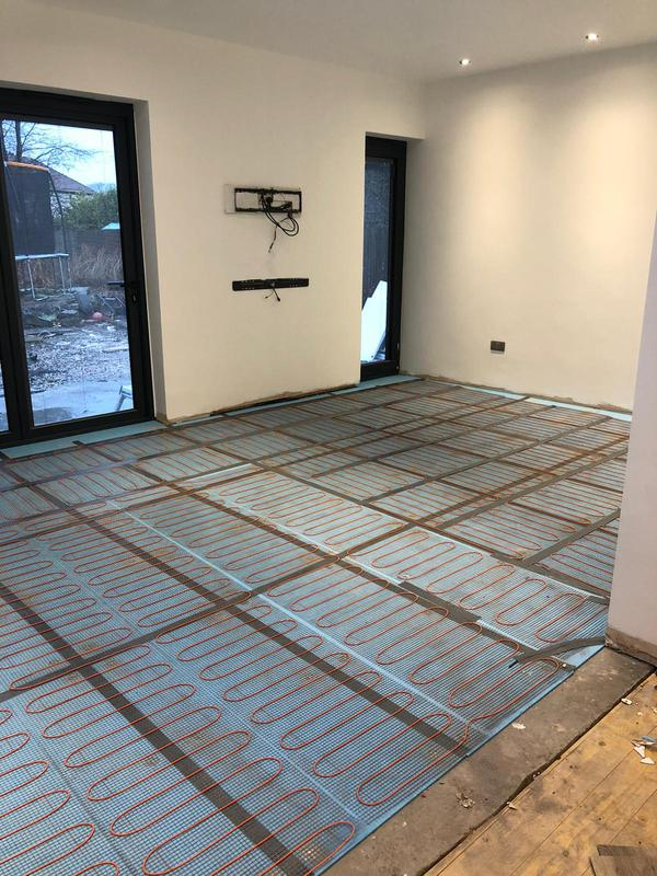 Image 3 - Electric underfloor heating