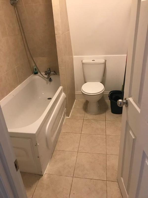 Image 6 - after and with a replacement toilet