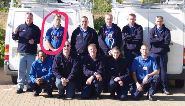 Image 33 - Me back as a sky engineer a few years back