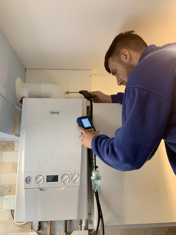Image 1 - Another boiler with a 10 year manufacturers warranty being put into action.