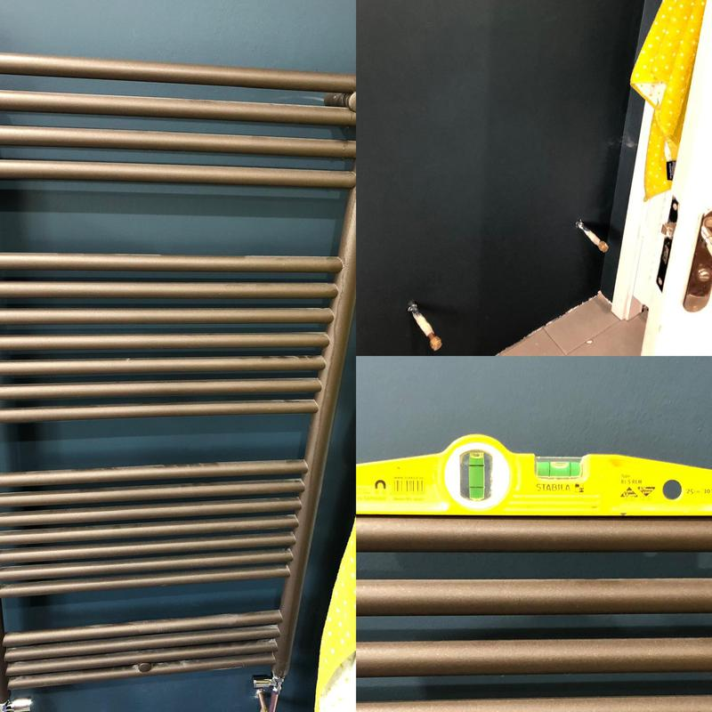 Image 23 - Towel rail fitted