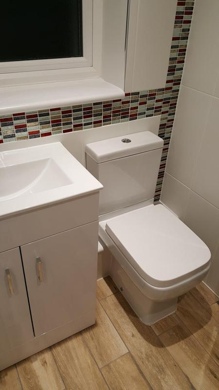 Image 77 - Complete bathroom refit - see our facebook page for before pictures!