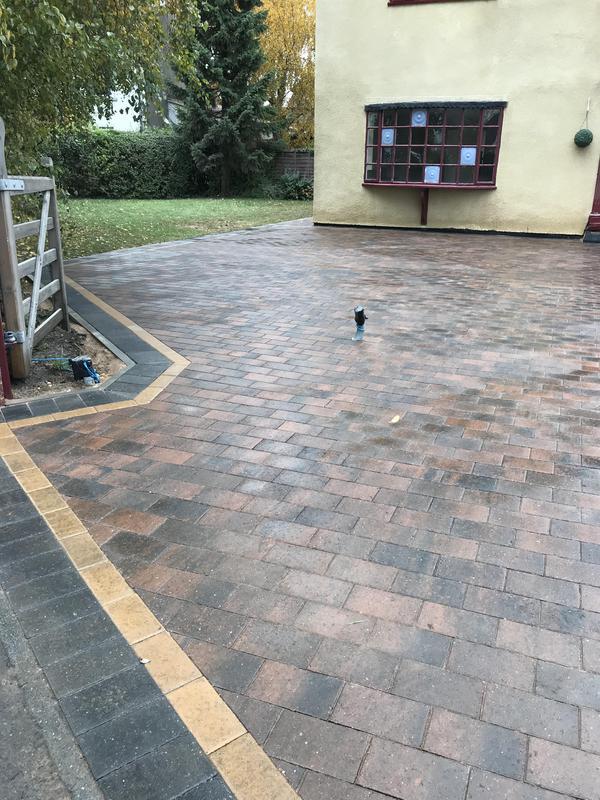 Image 27 - Block paved driveway
