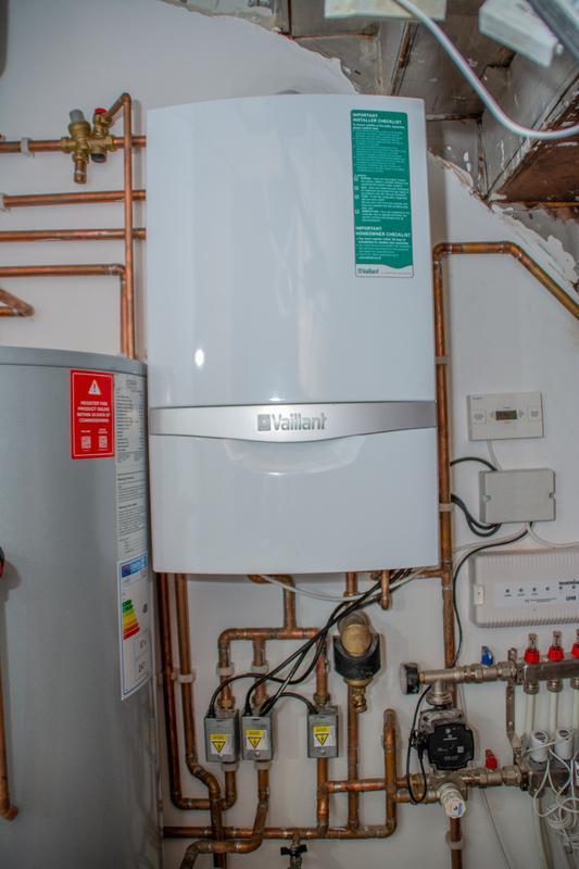 Image 19 - Vaillant system boiler