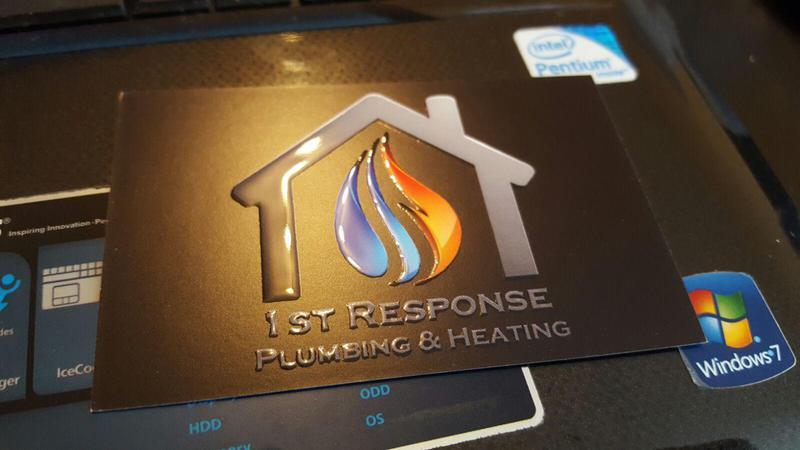 1st Response Group Plumbing & Heating logo