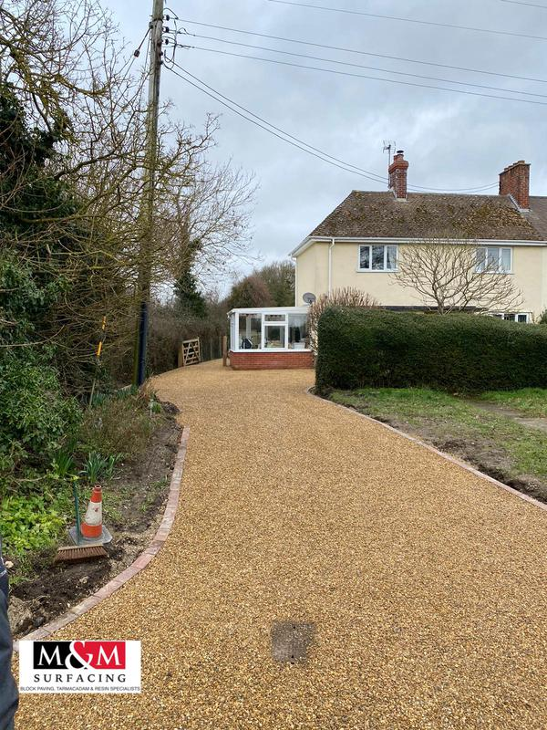 Image 59 - Tar and chip driveway completed