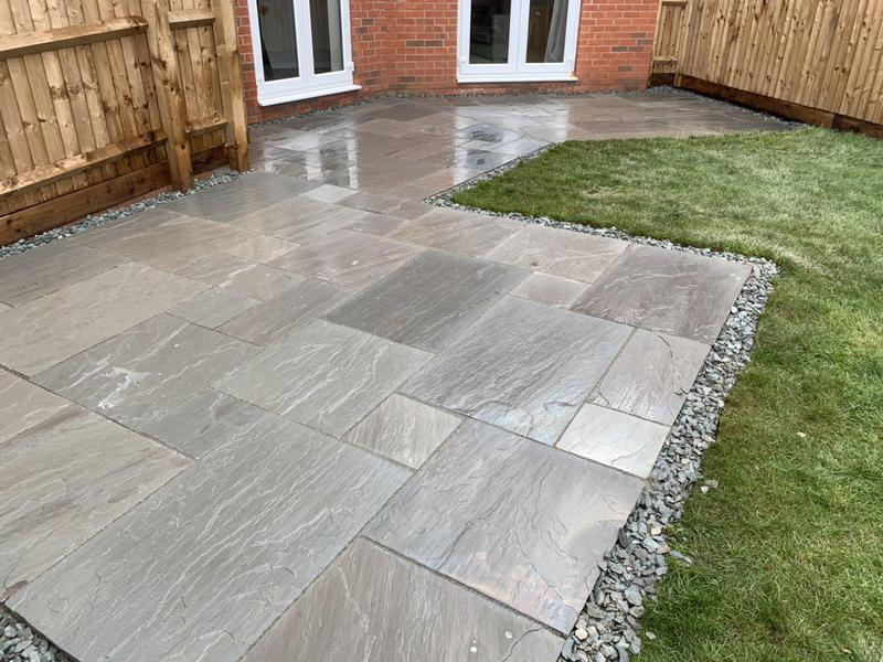 Image 32 - •FINISHED JOB• We did this patio job recently for a client in Derby. Enjoy those summer days with the family together. WHERE THERE IS A HOME THERE IS A BARBECUE.