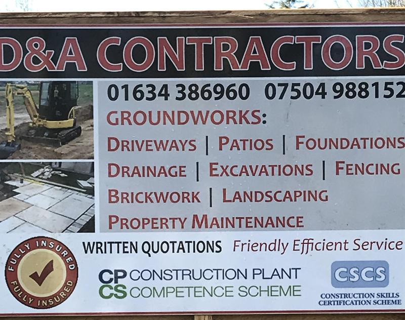 D&A Contractors logo