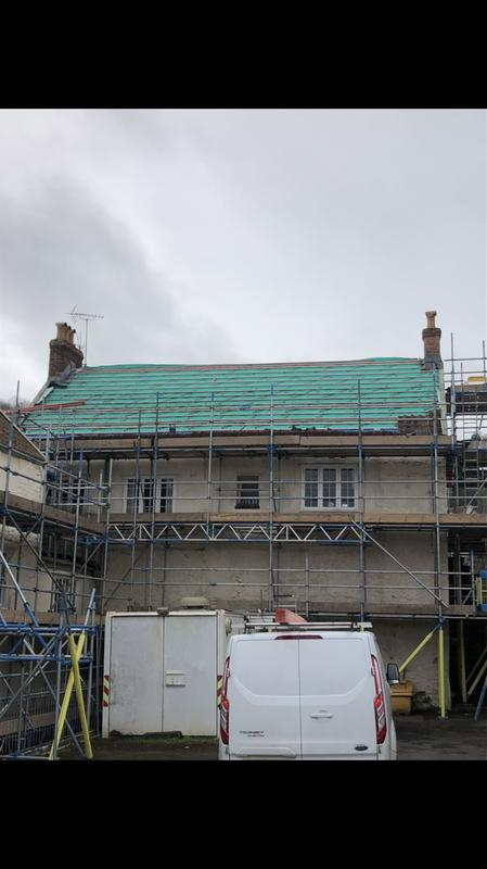 Image 32 - Re-roof for Bristol water in Banwell