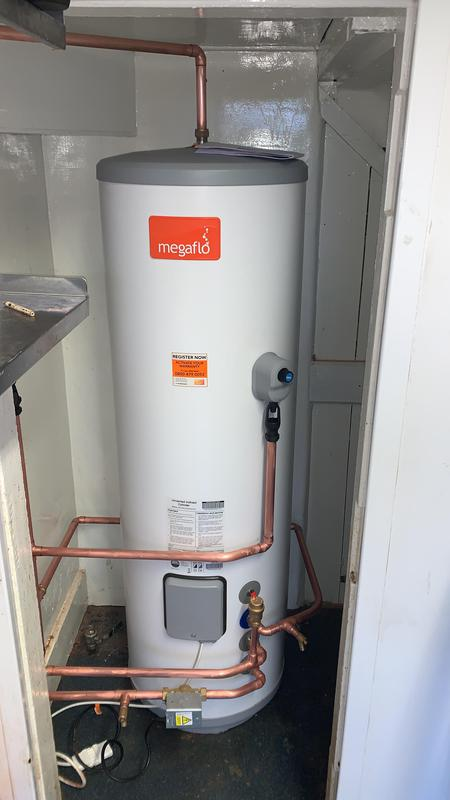 Image 4 - Turning a combi into a direct heat source for a mega flow as the pub had real problems getting enough out of the combi alone, So to save them money we kept the original boiler and worked our magic to get this installed, Wired then up and running!