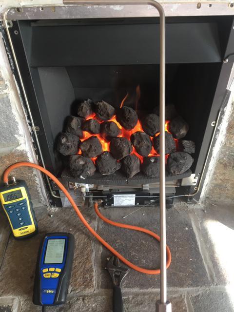 Image 30 - Gas Fire Service Domestic