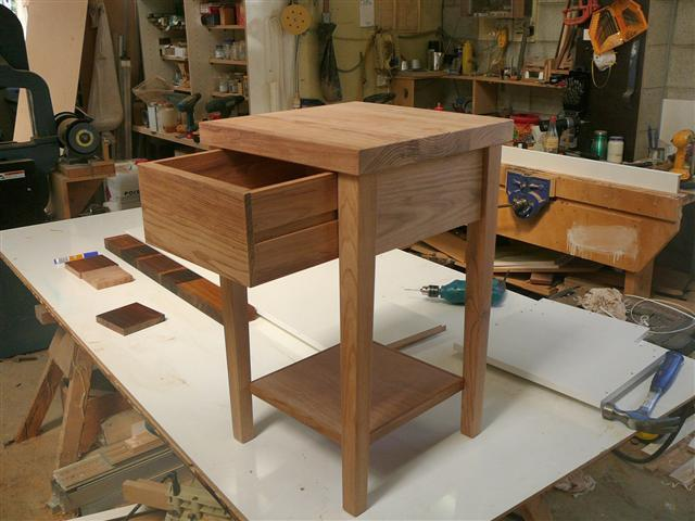 Image 5 - bespoke Chery side table