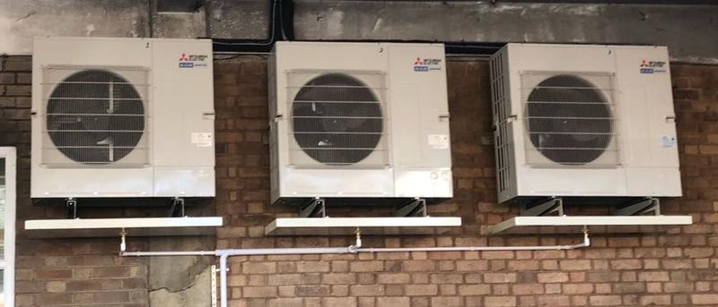 Image 22 - installed condensing units