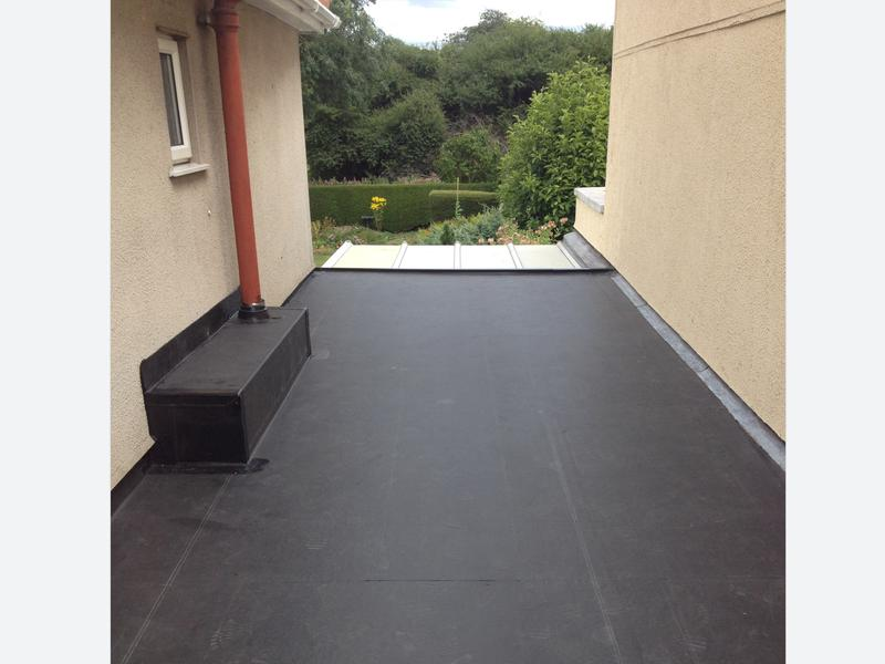 Image 156 - This picture is the end result of the firestone rubber we installed, customer was so happy with the transformation from the beginning to the end.