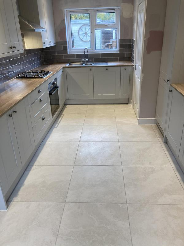 Image 8 - All kitchen, flooring, tiling completed on this one