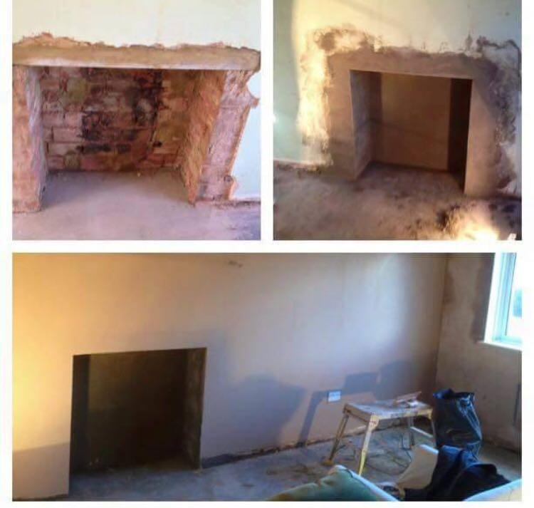 Image 42 - rendering fire place then skimming