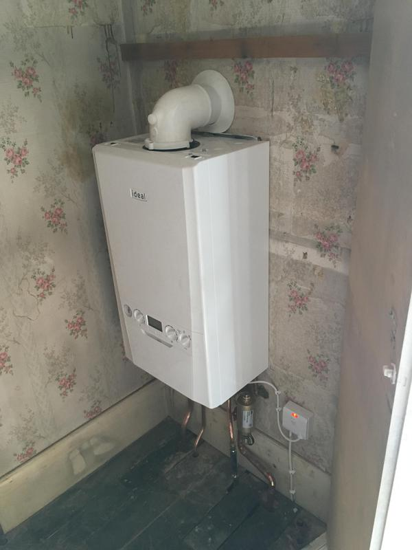 Image 34 - New combi boiler installed in place of a old boiler and cylinder