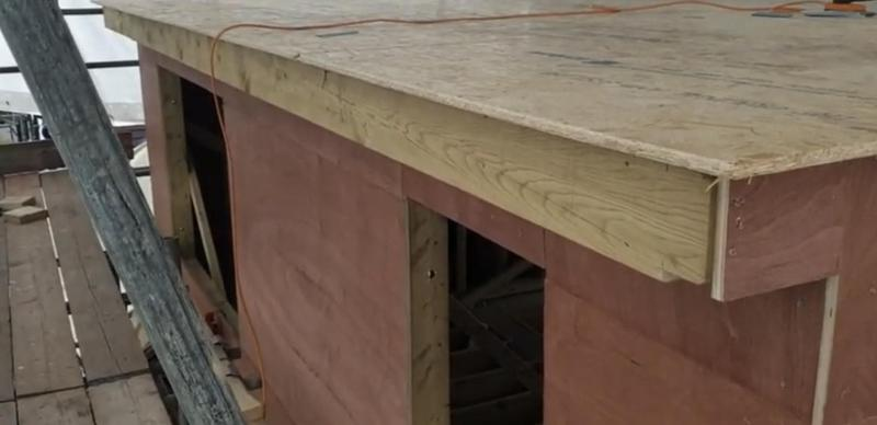 Image 1 - Loft conversion dormer built from wood that isn't complete.