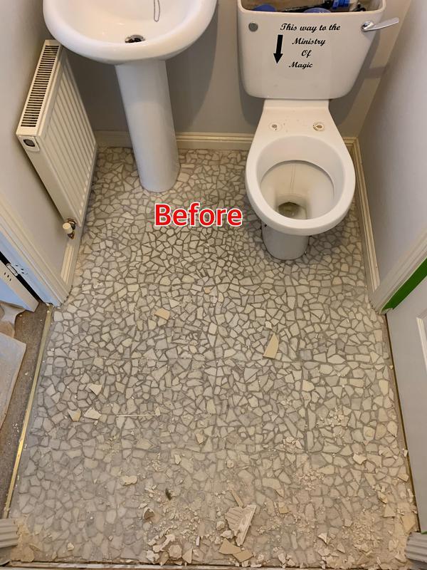 Image 36 - BEFORE. Crayford Bathroom refurbishment
