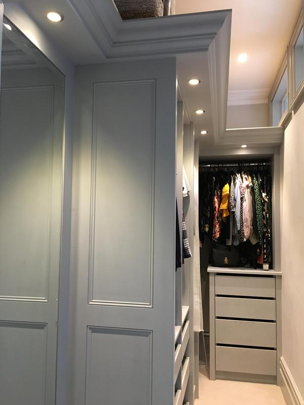 Image 5 - Bespoke walk-in wardrobe.