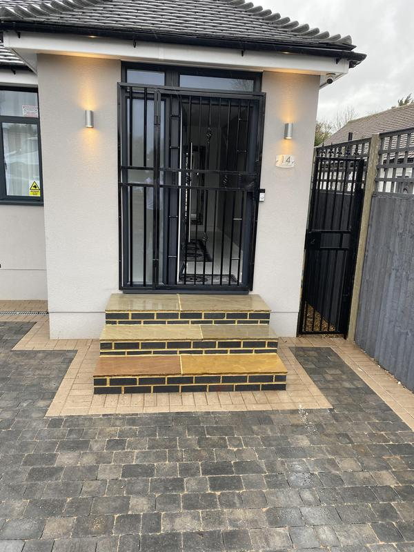 Image 12 - New block paving & steps built