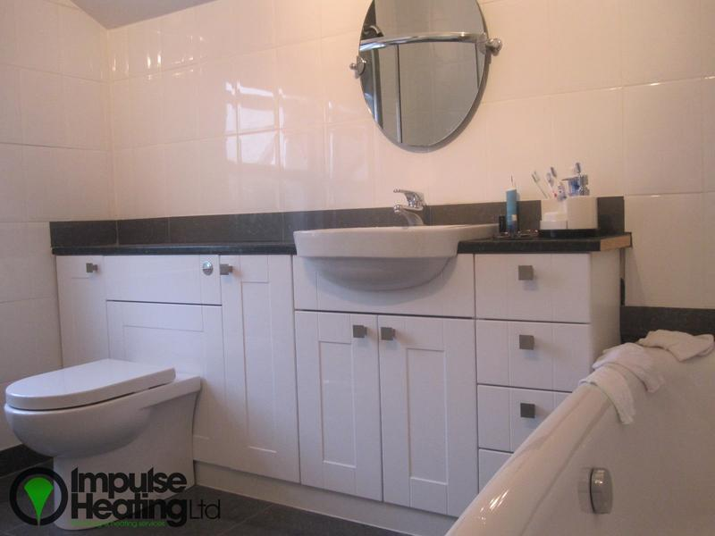 Image 18 - Modern Bathroom Suite With Concealed Units