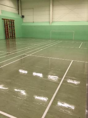 Image 110 - Sports hall Floor Cleaning