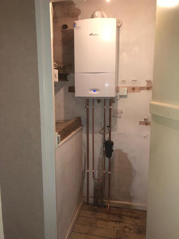 Image 25 - New Worcester Bosch combi boiler installed in Little Paxton