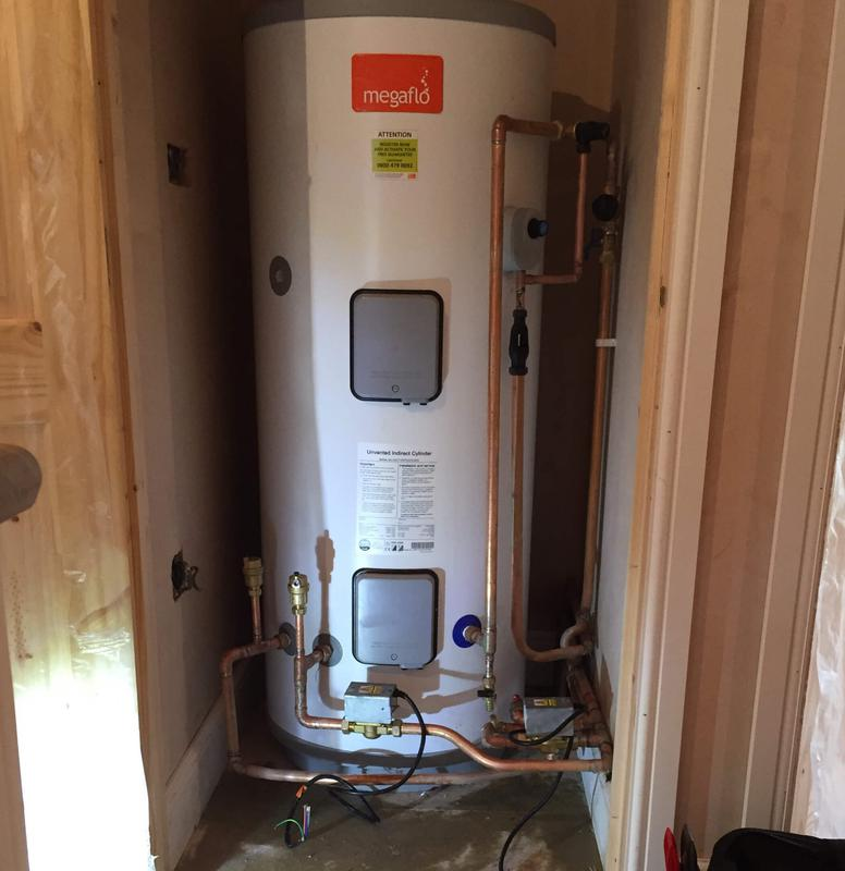 Image 13 - Unvented indirect hot water cylinder installation