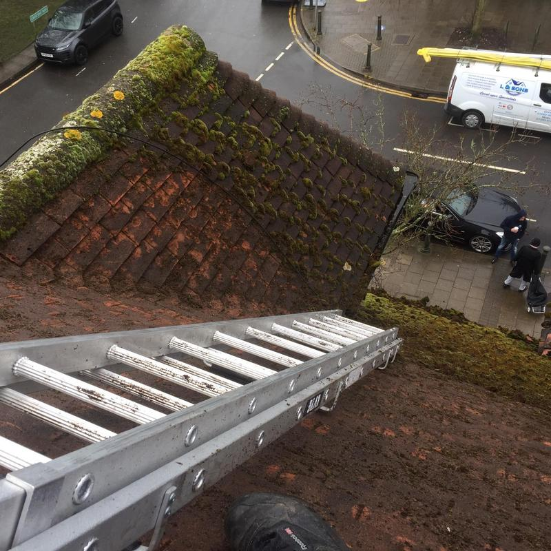 Image 29 - removing moss [ cleaning roof ]