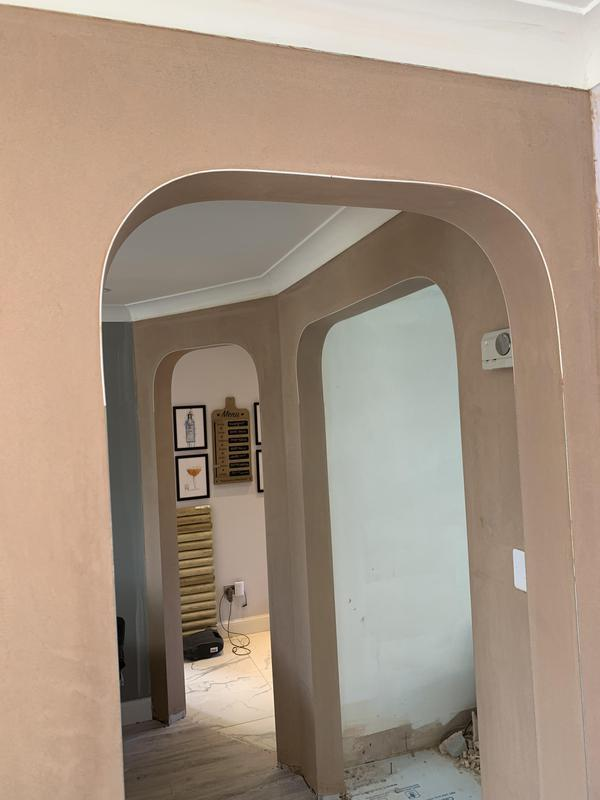 Image 39 - A triple arch feature to make the downstairs of the property flow into open plan spaces.
