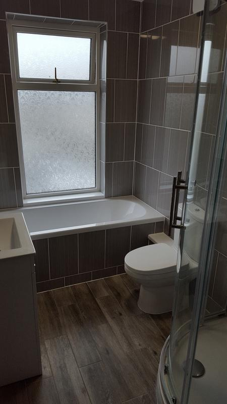 Image 47 - Complete bathroom refit - see our facebook page for before pictures!