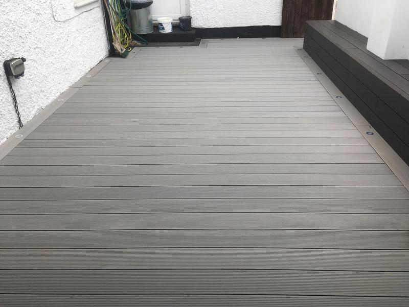 Image 107 - Composite decking install