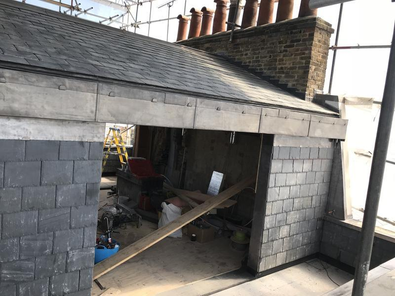 Image 2 - Welsh slate roof complete -Islington N1 London