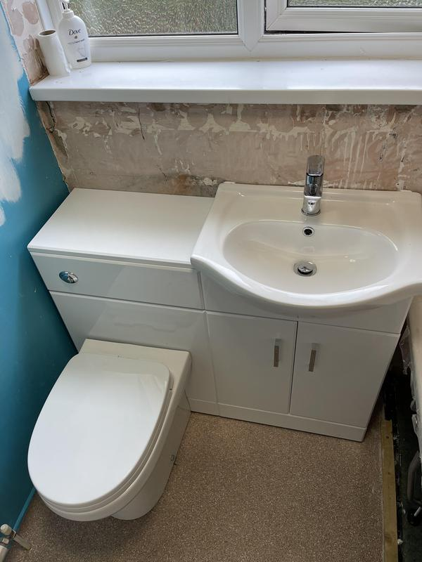 Image 4 - New Basin toilet installed