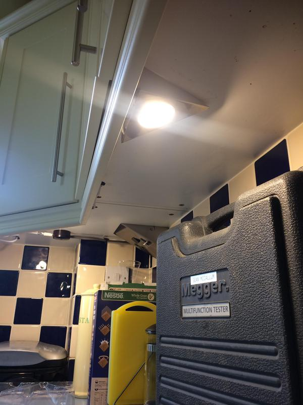 Image 17 - Faulty under cupboard lights replaced in Stonehouse